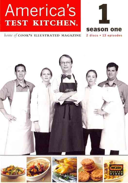 AMERICA'S TEST KITCHEN SEASON 1 BY AMERICA'S TEST KITCH (DVD)
